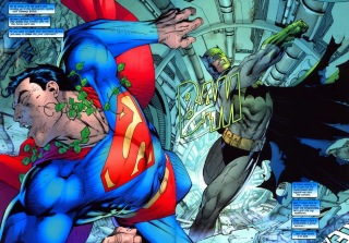 batman superman hush fight