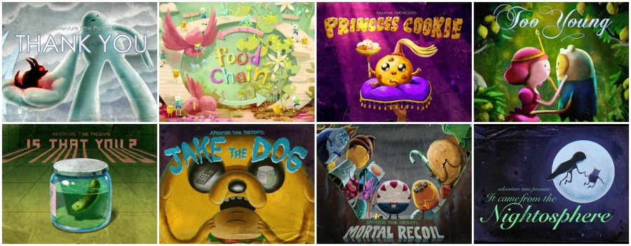 Best Adventure Time Episodes Collage