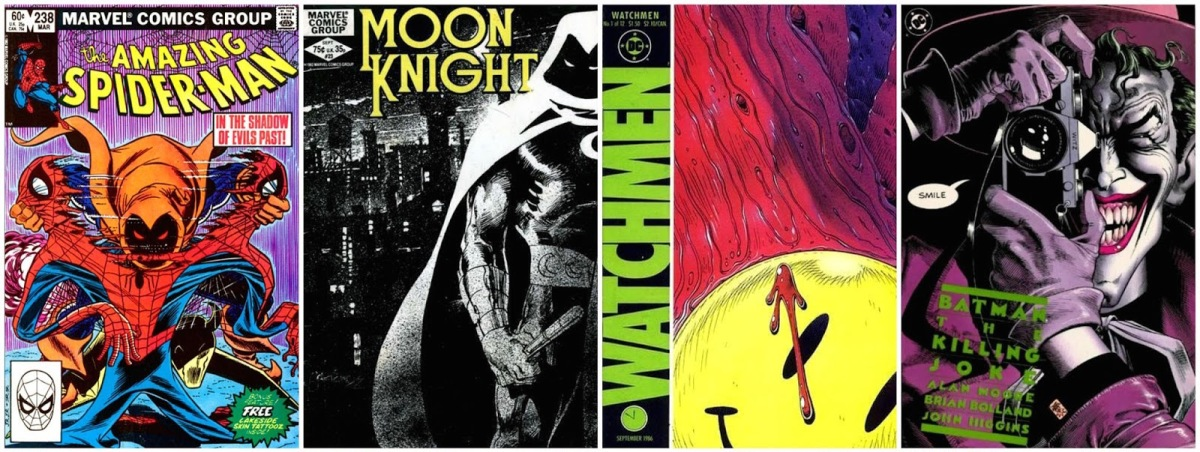 The 25 Best Comic Book Covers of the 1980s