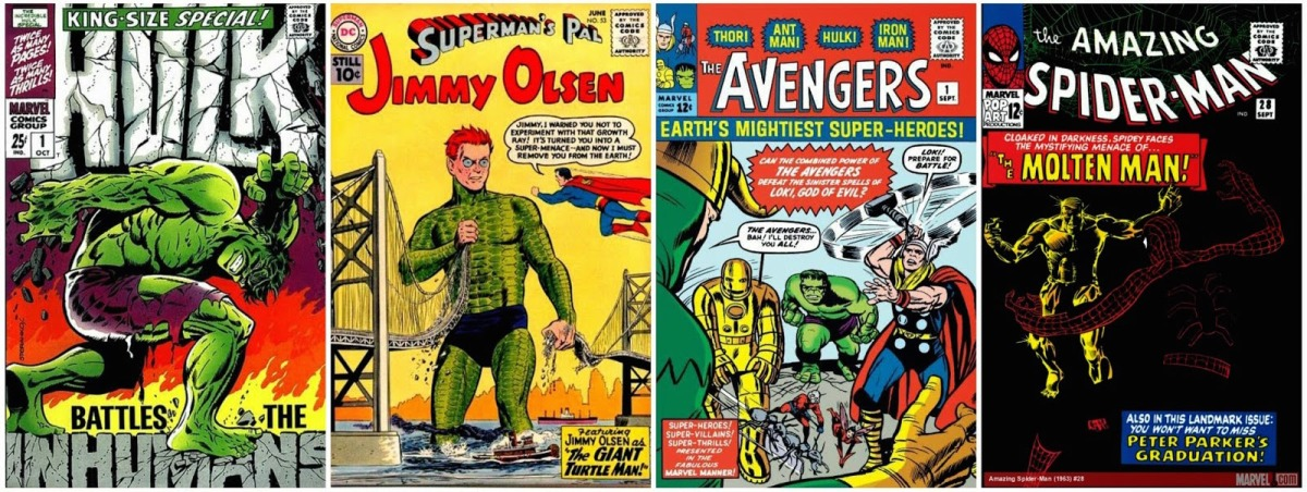 The 25 Best Comic Book Covers of the 1960s