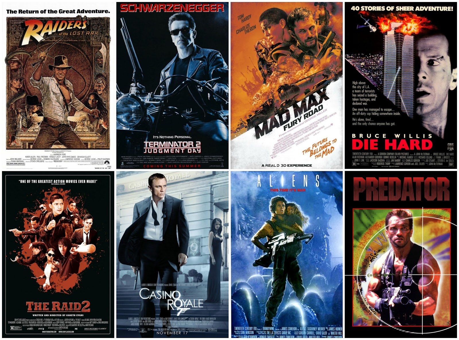 best movies action
