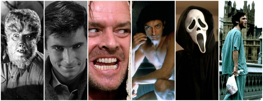 Horror Movies by Decade