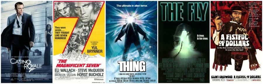 Movie Remake Collage
