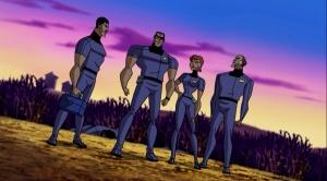 justice-league-unlimited-season-2-4-task-force-x-suicide-squad-plastique-deadshot-captain-boomerang-clock-king